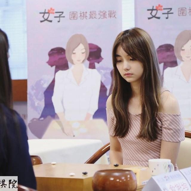 Kỳ thủ cờ vây xinh đẹp nhất Đài Loan: Đẹp như mỹ nữ truyện tranh, lại còn đánh cờ hay - Ảnh 10.