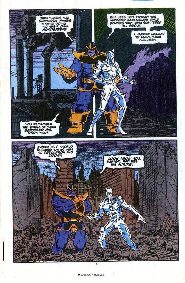 Tự xưng là Kẻ cứu rỗi vũ trụ, nhưng những gì Thanos làm đều là tội ác diệt chủng khiến người người căm ghét - Ảnh 1.