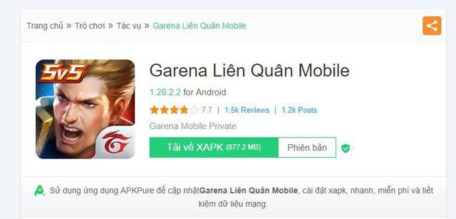 Vì lý do này mà Liên Quân Mobile phiên bản Garena nặng gấp 3 lần bản Tencent - Ảnh 1.