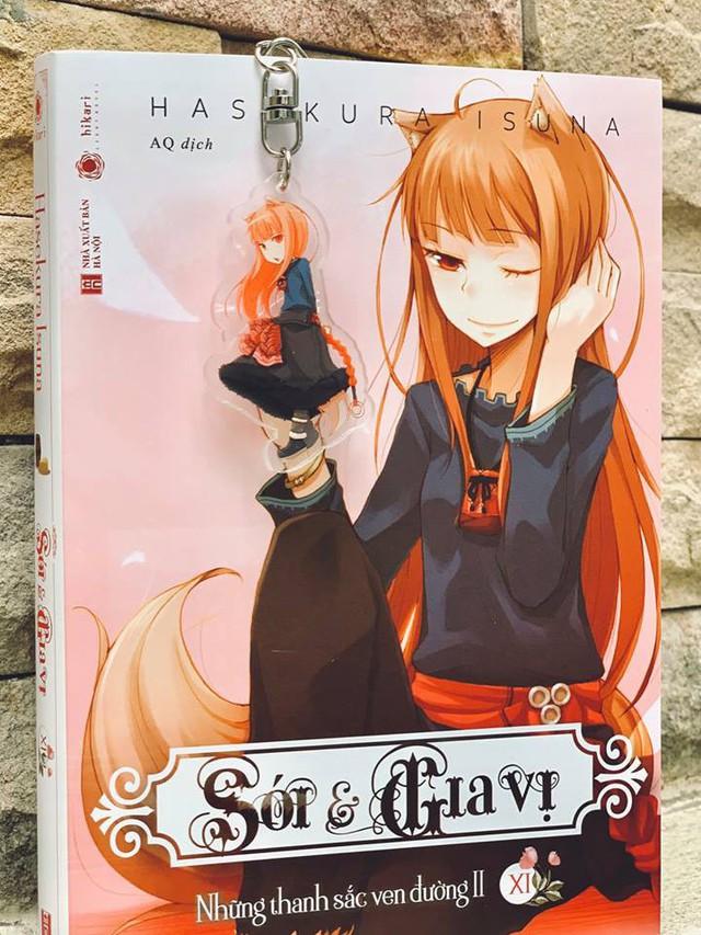 Sói và Gia vị: Tiểu thuyết phiêu lưu kỳ ảo cực hấp dẫn dành cho người yêu thích anime - Ảnh 4.