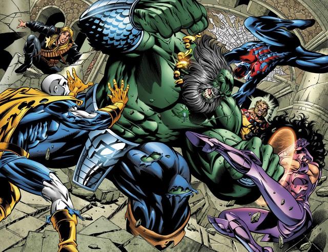 Maestro - Khi tất cả siêu anh hùng đều đã chết và Hulk trở thành kẻ độc tài thống trị thế giới - Ảnh 1.