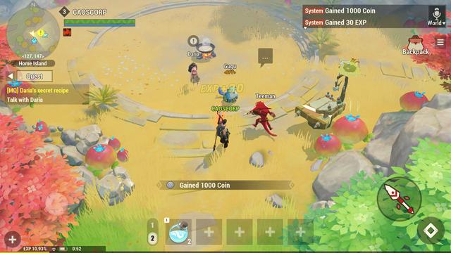 Dawn of Isles - Game mobile nhập vai ấn tượng mới mở thử nghiệm - Ảnh 2.