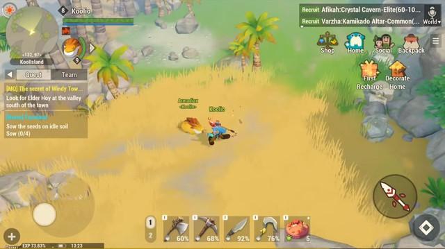 Dawn of Isles - Game mobile nhập vai ấn tượng mới mở thử nghiệm - Ảnh 4.