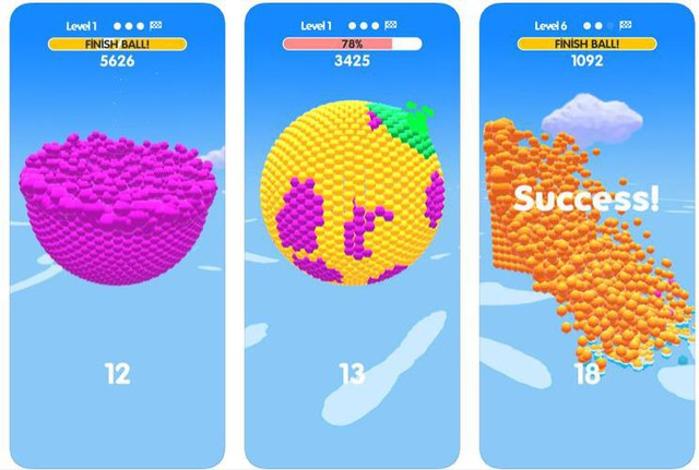 Ball Paint - Tựa game mobile siêu thư giãn xua tan ngày dài mệt mỏi - Ảnh 1.