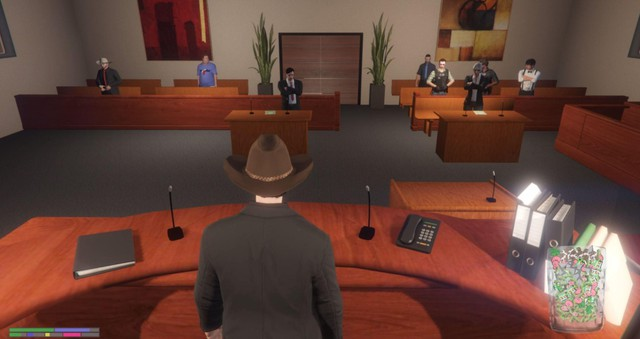 Chọn làm thẩm phán trong GTA RolePlay, streamer nhận ngay thư dọa giết ngoài đời thật - Ảnh 1.
