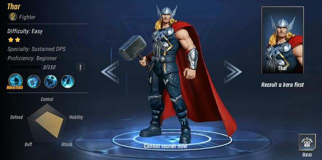 Youtuber Liên Quân Mobile 3,7 triệu sub chơi MARVEL Super War: Cầm Thor đánh quá phê - Ảnh 2.