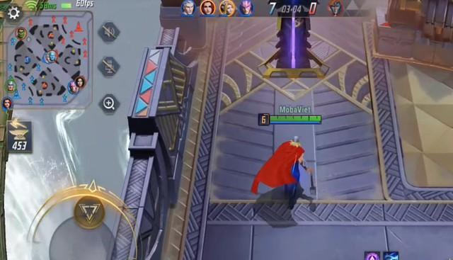 Youtuber Liên Quân Mobile 3,7 triệu sub chơi MARVEL Super War: Cầm Thor đánh quá phê - Ảnh 3.