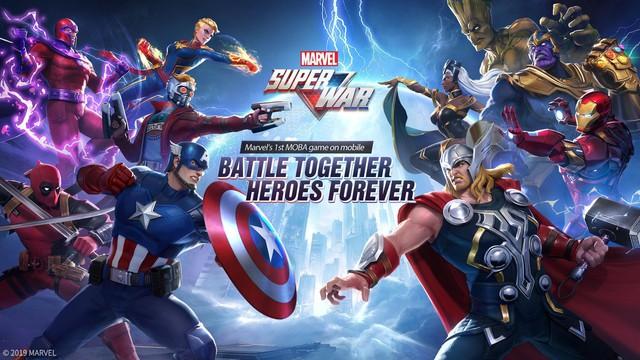 Hướng dẫn chi tiết cách tải MARVEL Super War cho cả máy iOS và Android - Ảnh 1.