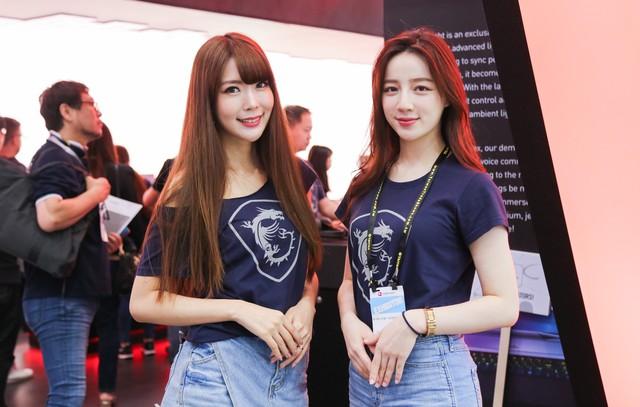 Một vòng các em gái xinh đẹp tại Computex 2019: Chỉ muốn ngắm mãi không về - Ảnh 16.