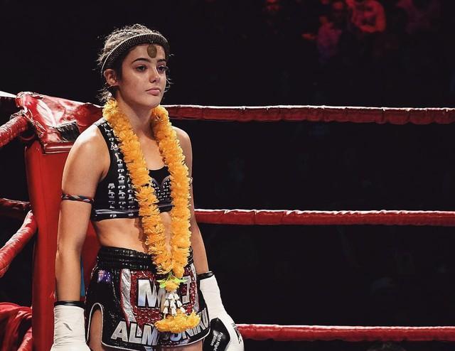 Vẻ quyến rũ chết người của cô nàng 18 tuổi nhưng đã sở hữu 2 đai vô địch thế giới Muay Thái - Ảnh 1.