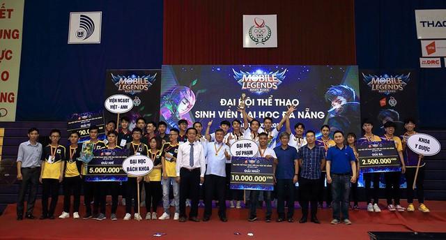 Mobile Legends: Bang Bang VNG được thi đấu tại Đại hội Thể thao sinh viên Đại học Đà Nẵng lần thứ XI – 2019 - Ảnh 4.