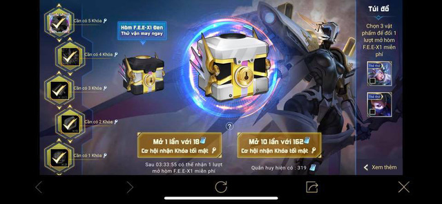 Liên Quân Mobile: Game thủ đen đủi sẽ mất tiền triệu cho TelAnnas Thần sứ F.E.E-X.1 - Ảnh 2.