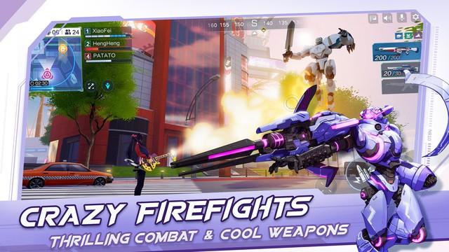 Game bắn súng hoạt họa tuyệt vời Super Mecha Champions sắp mở cửa thử nghiệm - Ảnh 4.