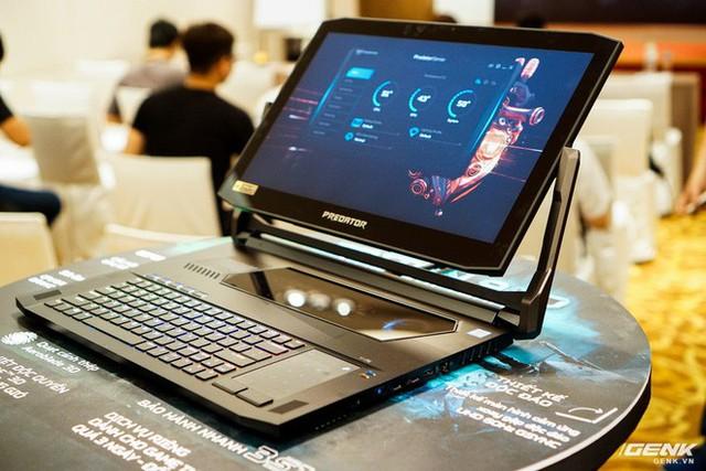 Ảnh thực tế loạt laptop gaming mới của Acer: Predator Helios 700 có cả cơ chế bàn phím trượt - Ảnh 4.