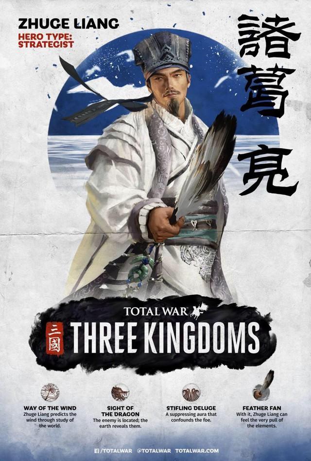 [Total War: Three Kingdoms] Tìm hiểu về sức mạnh và khả năng của bộ ba Tư Mã Ý, Gia Cát Lượng, Chu Du - Ảnh 1.