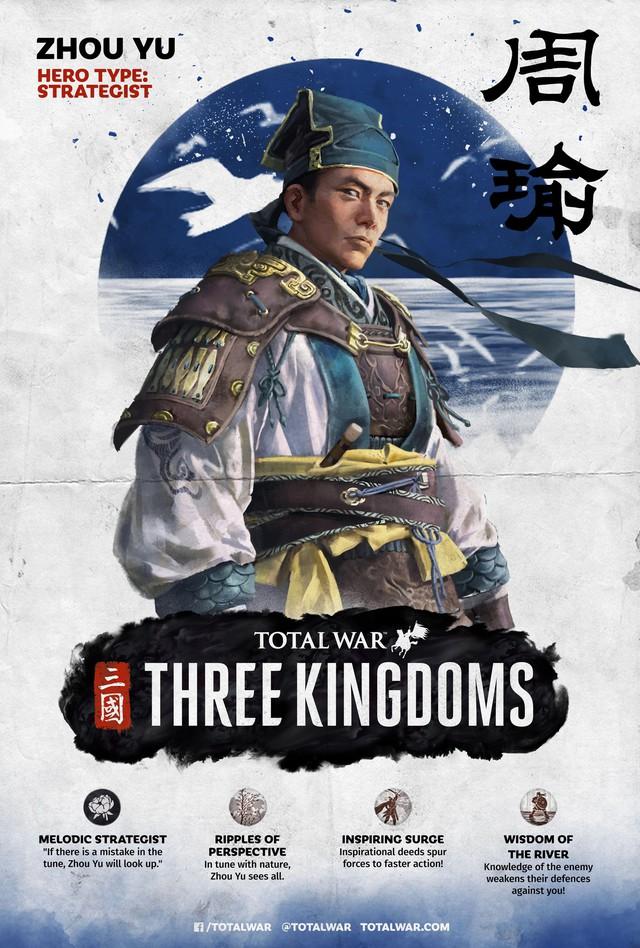 [Total War: Three Kingdoms] Tìm hiểu về sức mạnh và khả năng của bộ ba Tư Mã Ý, Gia Cát Lượng, Chu Du - Ảnh 3.