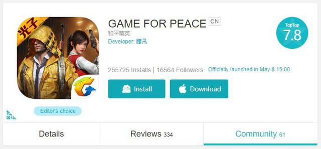 PUBG Mobile phiên bản Lightspeed & Quantum phát triển đổi tên thành Game for Peace - Ảnh 2.