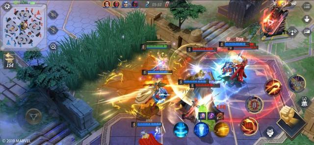 Chiến thử MARVEL Super War - Game MOBA toàn siêu anh hùng đang hot suốt mấy ngày nay - Ảnh 1.
