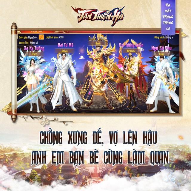 Làm Vua trong Tân Thiên Hạ, đại gia bỏ tiền tỷ cũng không bao giờ hối tiếc: Giang sơn cũng chỉ là nắm đất gọn trong lòng bàn tay - Ảnh 4.