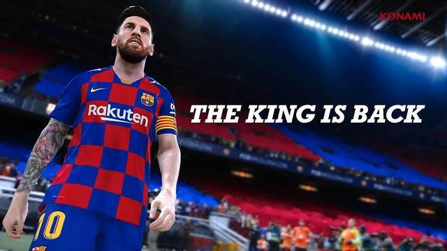 PES 2020 hé lộ gameplay tuyệt đỉnh, đồ họa đẹp lung linh không khác gì xem bóng đá trên TV - Ảnh 1.