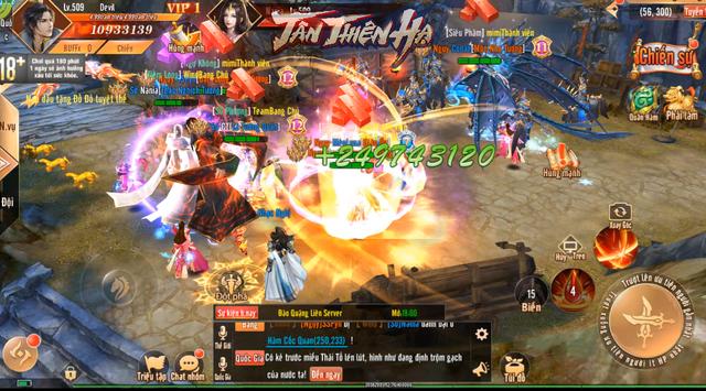 Video 5 phút trải nghiệm màn gọi hội chặn cổng thành trong game mới Tân Thiên Hạ: Tao yếu nhưng anh em tao đông! - Ảnh 7.