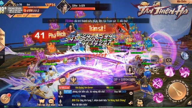 Video 5 phút trải nghiệm màn gọi hội chặn cổng thành trong game mới Tân Thiên Hạ: Tao yếu nhưng anh em tao đông! - Ảnh 8.