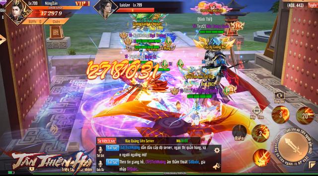 Video 5 phút trải nghiệm màn gọi hội chặn cổng thành trong game mới Tân Thiên Hạ: Tao yếu nhưng anh em tao đông! - Ảnh 3.