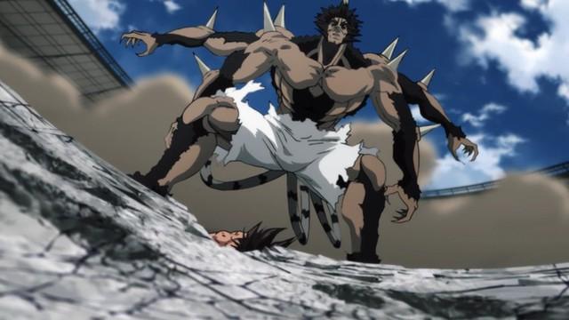 One Punch Man mùa 2 tập 21: Saitama lạnh lùng tung cú tất sát hạ gục quái vật Bakuzan - Ảnh 1.