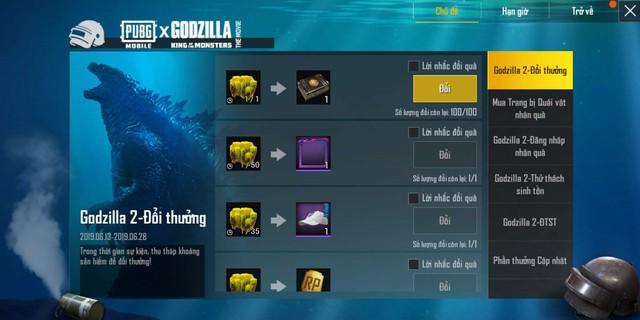 PUBG Mobile VN bản 0.13 chính thức ra mắt: Mode 4v4, event Godzilla, tăng cường chống Hack,... - Ảnh 3.