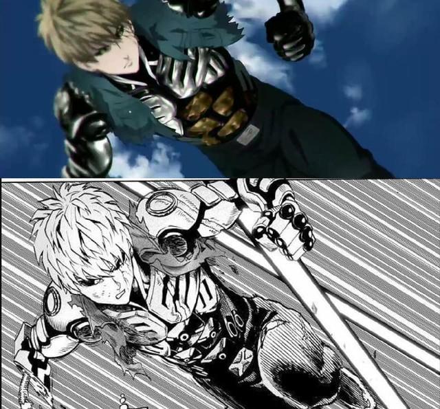 One-Punch Man: So độ ngầu của Genos trong trận chiến với người máy G4 ở phiên bản Anime và Manga - Ảnh 1.