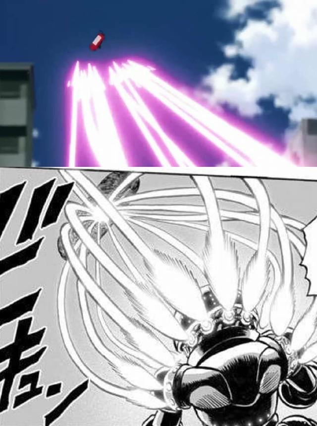 One-Punch Man: So độ ngầu của Genos trong trận chiến với người máy G4 ở phiên bản Anime và Manga - Ảnh 9.