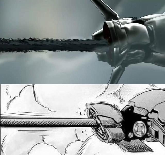 One-Punch Man: So độ ngầu của Genos trong trận chiến với người máy G4 ở phiên bản Anime và Manga - Ảnh 10.
