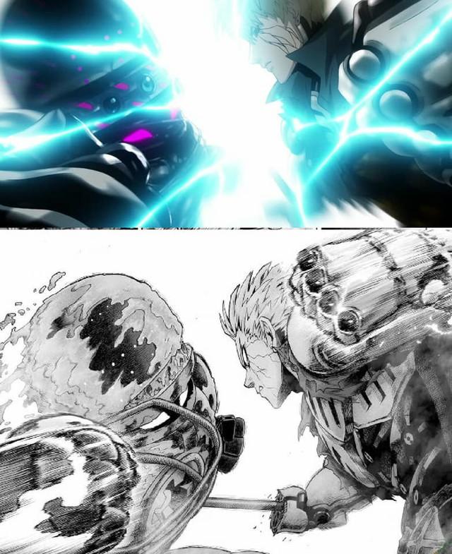 One-Punch Man: So độ ngầu của Genos trong trận chiến với người máy G4 ở phiên bản Anime và Manga - Ảnh 11.