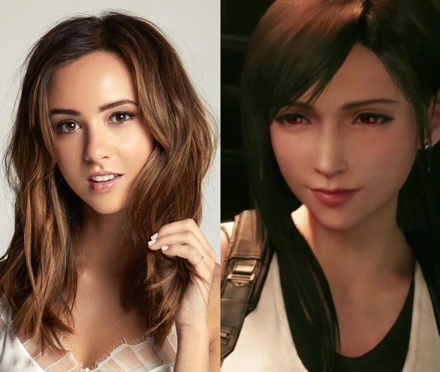 """""""Mất hồn"""" với vẻ xinh đẹp như thiên thần của diễn viên thủ vai Tifa trong Final Fantasy VII Remake - Ảnh 1."""