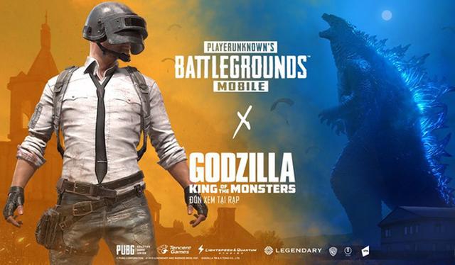 Ăn theo Godzilla, PUBG Mobile cho gamer quay trang phục Vua Quái Thú khá ngầu lòi và đẹp mắt - Ảnh 1.