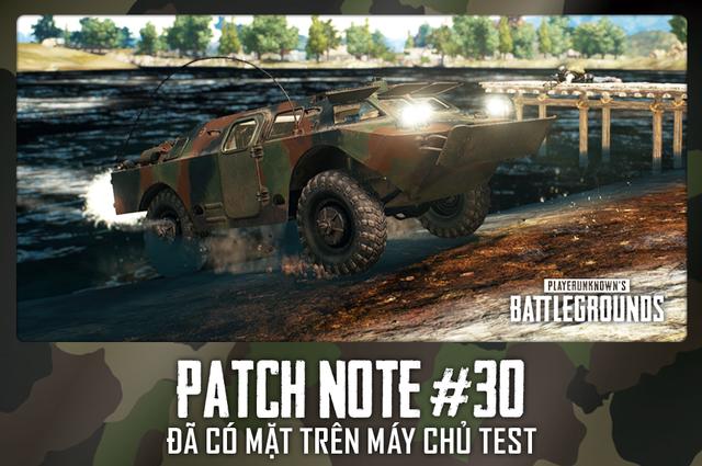 PUBG tung update mới: xuất hiện xe bọc thép vô địch thiên hạ, đi cả trên cạn và dưới nước, chấp luôn cả bom mìn, redzone - Ảnh 1.