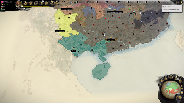 Việt Nam xuất hiện trên bản đồ Tam Quốc trong Total War: Three Kingdoms - Ảnh 1.