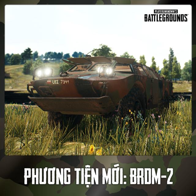 PUBG tung update mới: xuất hiện xe bọc thép vô địch thiên hạ, đi cả trên cạn và dưới nước, chấp luôn cả bom mìn, redzone - Ảnh 2.