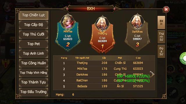 Thánh Chiến 3D: Bom tấn MMORPG Hàn Quốc chính thức đạt Top 1 thịnh hành CH Play sau 2 ngày ra mắt - Ảnh 4.