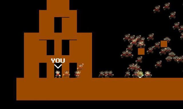Rất nhanh, tựa game Mario Royale đã dính chưởng bản quyền, phải thay cả tên lẫn hình bên trong thành những khối xấu xí - Ảnh 1.
