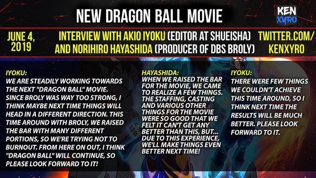 Sau Broly, Dragon Ball Super sẽ tung movie thứ 2 theo hướng hoàn toàn mới - Ảnh 2.