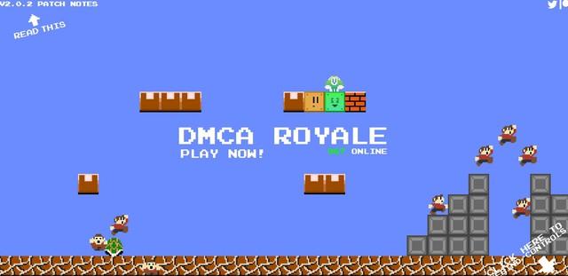 Rất nhanh, tựa game Mario Royale đã dính chưởng bản quyền, phải thay cả tên lẫn hình bên trong thành những khối xấu xí - Ảnh 2.