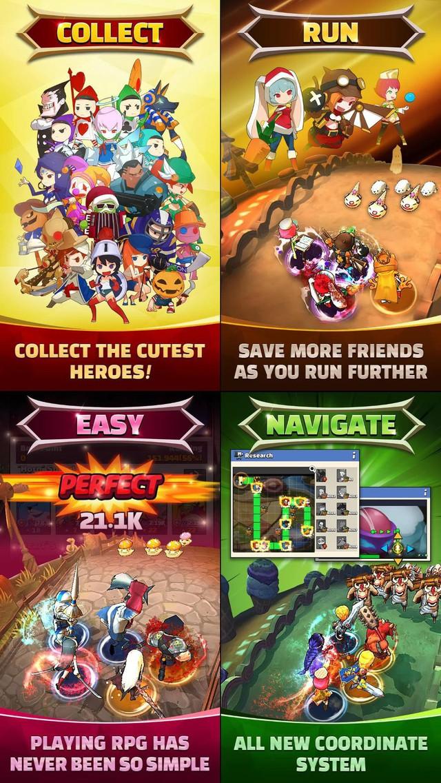 Thử ngay Hello Hero: All Stars - Game nhập vai siêu dễ thương mới mở cửa - Ảnh 2.