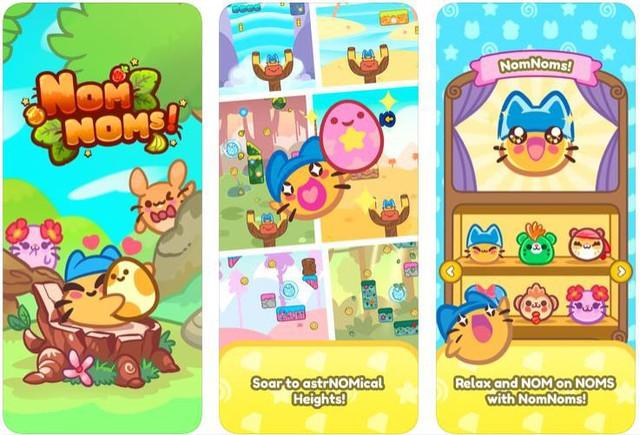 Nếu đang tìm kiếm một tựa game mobile vui nhộn siêu giải trí hãy thử ngay Nomnoms - Ảnh 2.