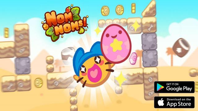 Nếu đang tìm kiếm một tựa game mobile vui nhộn siêu giải trí hãy thử ngay Nomnoms - Ảnh 4.