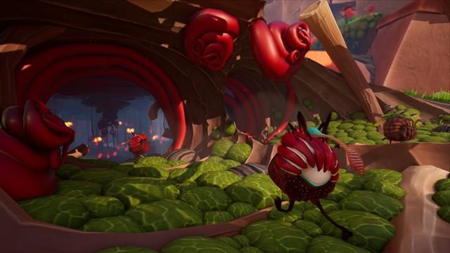 Flea Madness - Game quái vật tí hon đối đầu với cây ăn thịt người, đã tay đã mắt siêu vui nhộn - Ảnh 1.