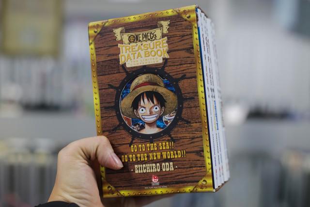 Databook One Piece phiên bản giới hạn đựng trong hộp siêu đẹp chuẩn bị ra mắt fan - Ảnh 1.