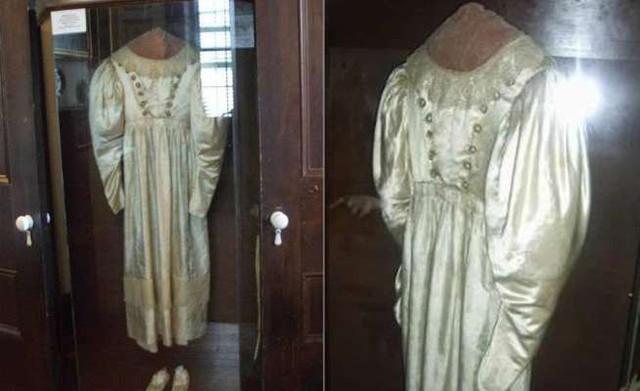 Chiếc váy cưới bị nguyền rủa của Anna Becker - cô dâu vì không lấy được người yêu đã quyết ế cả đời - Ảnh 1.