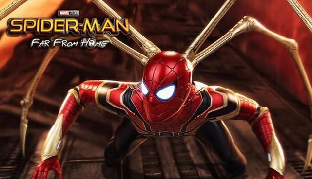 Cận cảnh bộ giáp đen siêu ngầu của Nhện Nhọ trong Spider-Man: Far From Home - Ảnh 1.