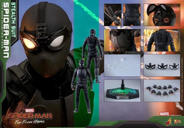 Cận cảnh bộ giáp đen siêu ngầu của Nhện Nhọ trong Spider-Man: Far From Home - Ảnh 13.